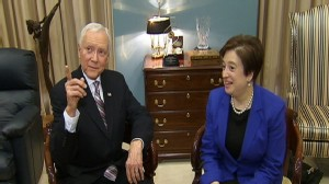 Video of Senator Orrin Hatch meeting with Elena Kagan on Capitol Hill