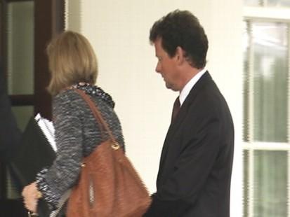 Video: BP CEO Tony Hayward visits the White House.