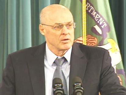 pic of treasury secretary henry paulson