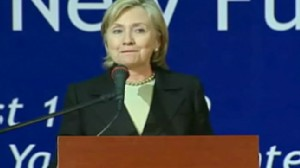 ABC News video of Hillary in Nigeria