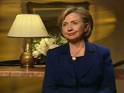 Video of ABCs Martha Raddatzs exclusive interview with Secretary of State Hillary Clinton about Iran, Obamas secret letter and Syria.
