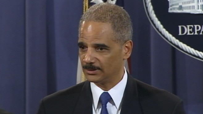 VIDEO: Eric Holder: They Will Be Held Accountable