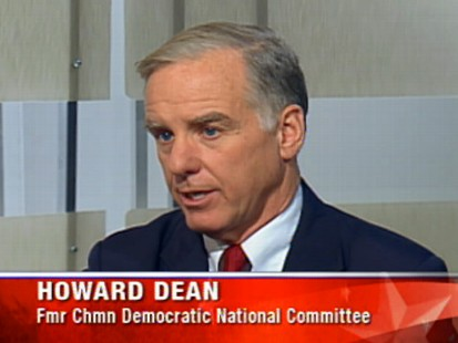 Video of Howard Dean on ABCs Top Line.