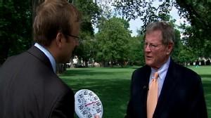 Video: ABC News Jonathan Karl Interviews Sen. Inhofe on global warming.