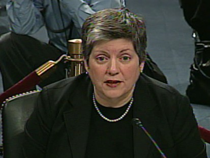 Video of DHS Secretary Janet Napolitano addressing TSA security breach.