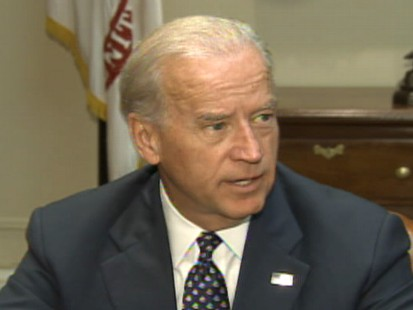 Video of Vice President Joe Biden on the job numbers in September.