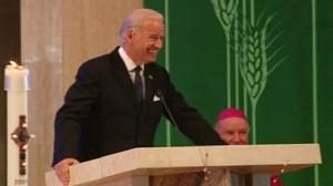 Video of Vice President Joe Biden speaking at his mother Jeans funeral.