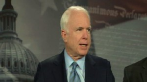 Video of Senator John McCain and other Republicans on budget spending.