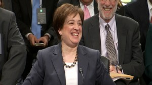 Video: Elena Kagan cracks jokes.