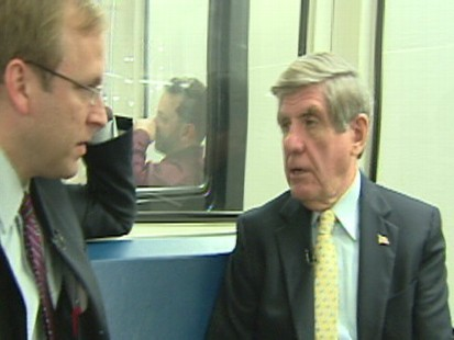 Video of ABC News Subway Series with Jonathan Karl