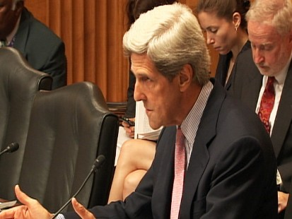 Video: Senator John Kerry D-MA., discusses Wikileaks.