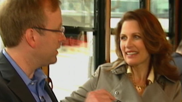 PHOTO All signs point to Michele Bachmann running for the Republican presidential nomination later this year.