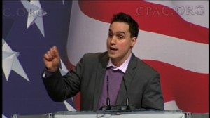 ABC News video of Jason Mattera speaking at CPAC.