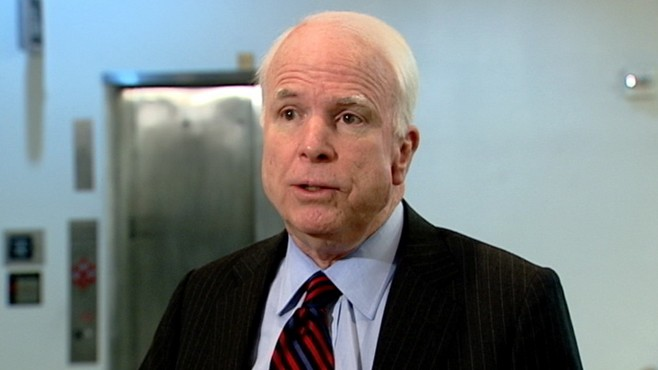 VIDEO: McCain: Want Gaddafi to Go? Establish a No-Fly Zone