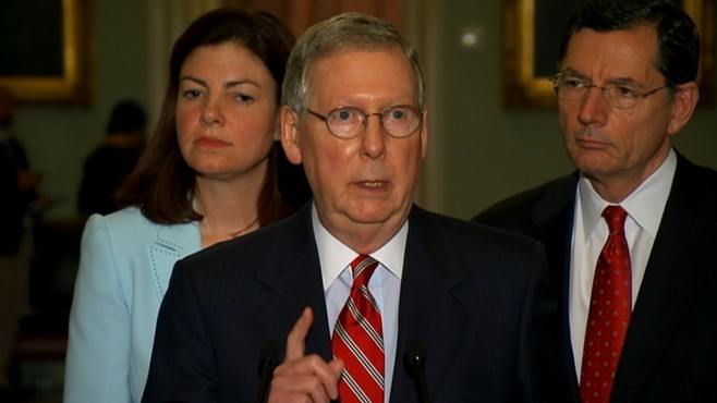 VIDEO: Debt Limit: McConnell 'Time For Talking Is Over'