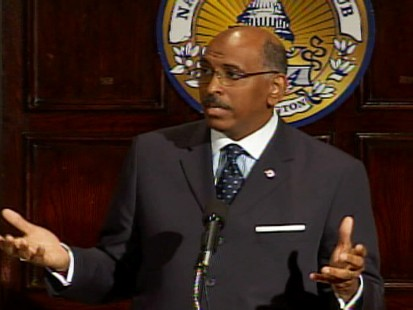 Video of GOP Chair Michael Steele calling President Obamas health care plan socialism.
