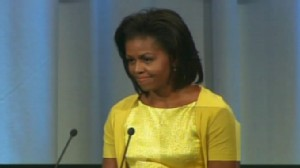 Video of Michelle Obama pitching to the Olympic Committee in Copenhagen.