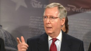 Video of Senator Mike McConnell on Senator Harry Reids race comments.