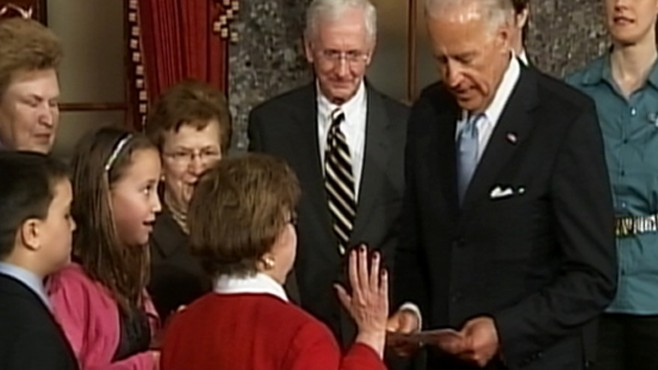 VIDEO: Mikulski Sworn In as Longest Serving Woman
