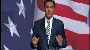 ABC News video of Mitt Romney at CPAC.