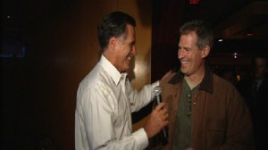 Video of Mitt Romney talking about