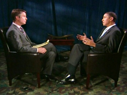 Video of Terry Morans interview with President Obama to air on Nightline Tuesday.
