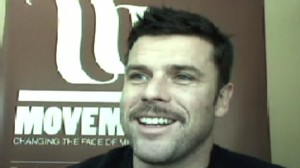 ABC News video of Movember CEO and founder Adam Garone.