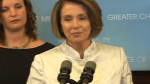 House Speaker Nancy Pelosi on the presidents health care plan.
