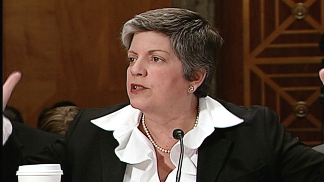 WATCH: Napolitano, McCain Spar Over Immigration