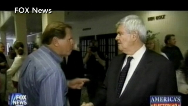 VIDEO: GOP Voter To Newt Gingrich: 'You're an Embarrassment'