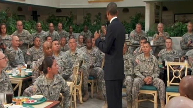 Video: President Obama remarks to troops at Ft. Bliss.