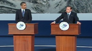 ABC New video of Obama at the Major Economies Forum.