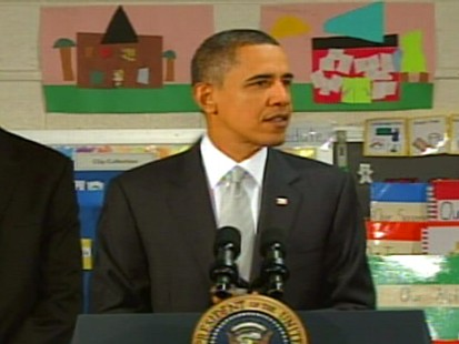 Video of President Obama on expanding Race to the Top education plan.