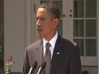 Video: Obama gives remarks on economy in the Rose Garden.