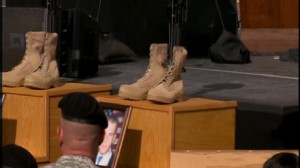 ABC News video of President Obama honoring those fallen at Fort Hood Nov. 5.
