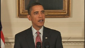 ABC News video of Obama speaking about Iran.