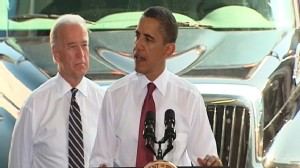 Video of President Barack Obama touting jobs report.