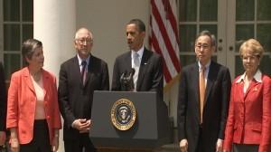 Video of President Barack Obamas remarks on oil spill.