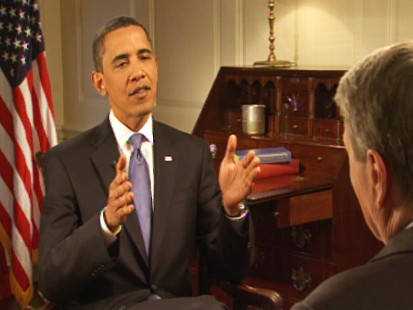 ABC News video of PBS Obama interview.