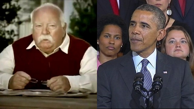 VIDEO: President Obama follows in the tradition of celebrity endorsements when selling Obamacare.