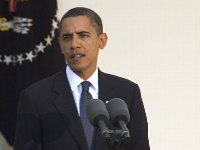 Video of President Obama accepting to the Nobel Peace Prize.