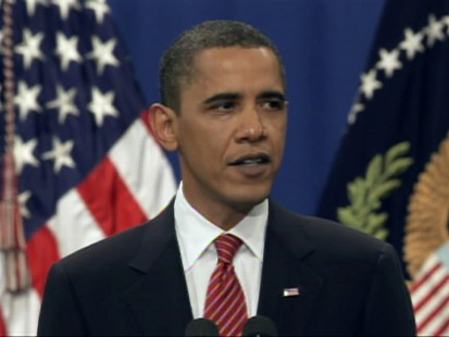 ABC News video of Obamas Afghanistan speech.