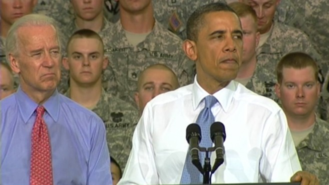 VIDEO: Obama Gives Emotional Speech To Troops