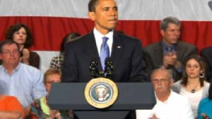 ABC News video of President Obamas townhall on health care in Wisconsin