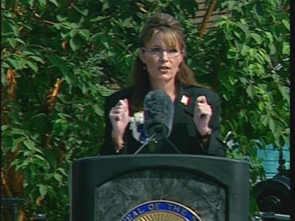 ABC News video of Sarah Palin