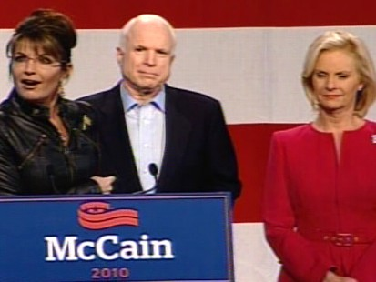 Video of Sarah Palin and John McCain on the campaign trail in Arizona.