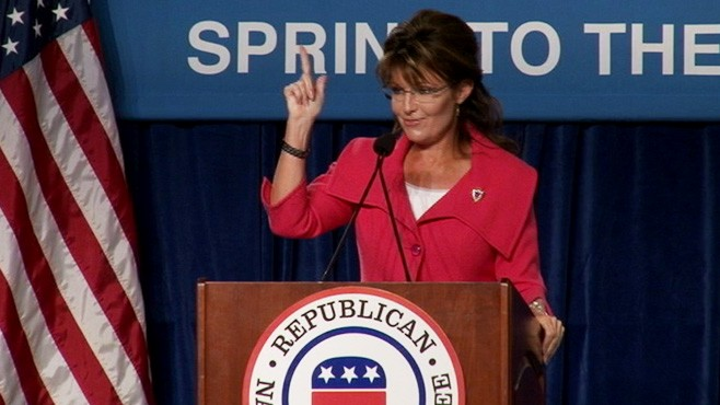 VIDEO: Palin: Steele Will Lead US To Victory 2012