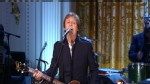 ABC News video of Sir Paul McCartney singing at the White House.