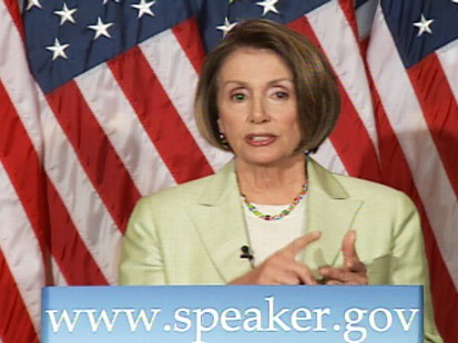Video of Nancy Pelosi saying CIA lied to her.