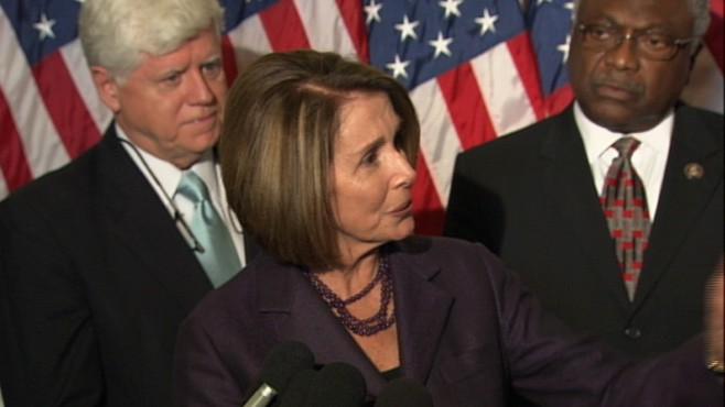 VIDEO: Nancy Pelosi Angered By Money Spent Against Her